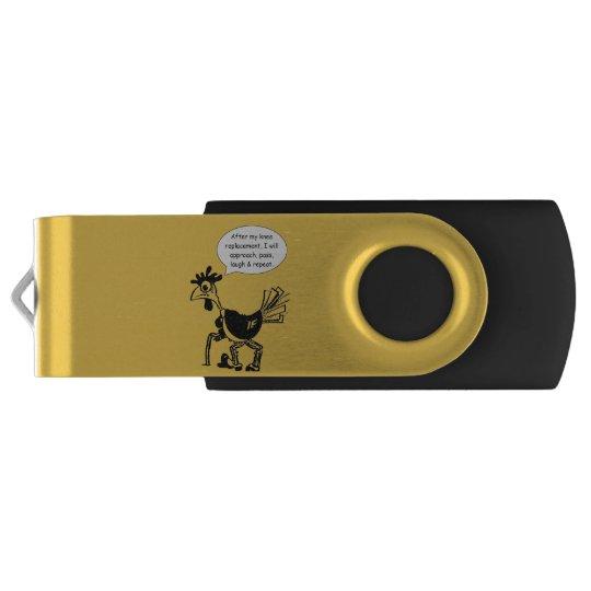 Memoria USB Cirugía del reemplazo de la rodilla - cita de la