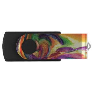 """Memoria USB con el arte original """"alegría """""""