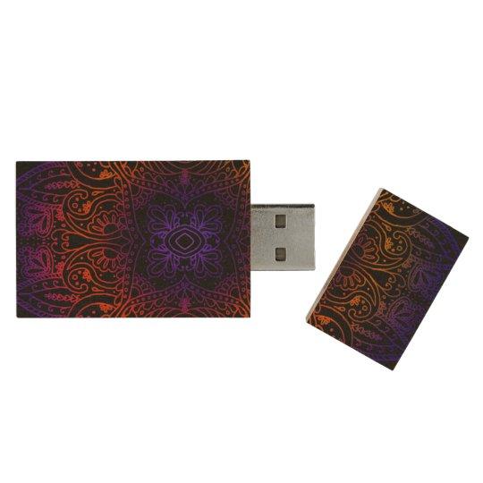 Memoria USB De Madera Explosión 8GB 3,0 de Mehndi
