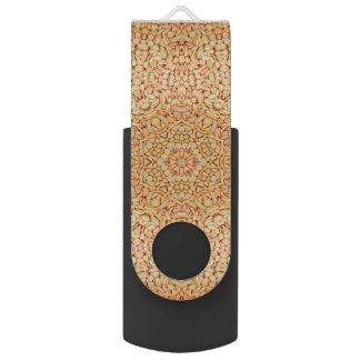 Memoria USB del caleidoscopio    de los guijarros