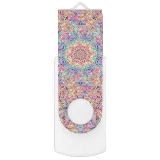 Memoria USB del caleidoscopio     del Hippie