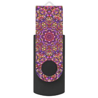 Memoria USB del caleidoscopio      del mosaico