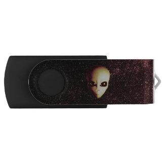 Memoria USB del extranjero de espacio