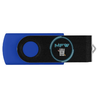 Memoria USB del logotipo del mundo de Memefull