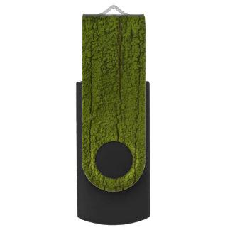 Memoria USB delantera y de centro de la naturaleza