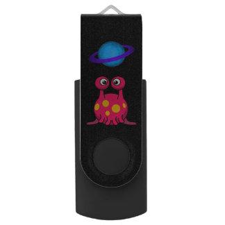 Memoria USB Extranjero rojo del tentáculo