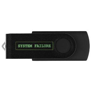 Memoria USB Fallo del sistema
