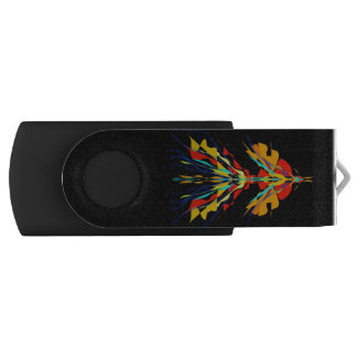 Memoria USB Firebird en negro