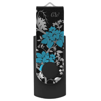 Memoria USB Floral moderno personalizada