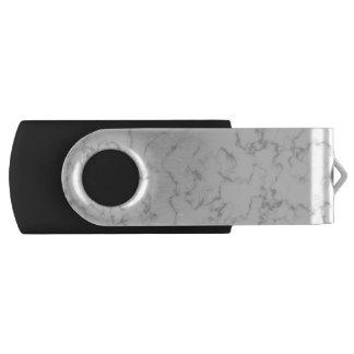Memoria USB Fondo veteado del modelo de la piedra del mármol