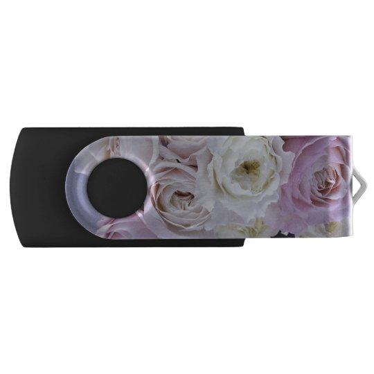 Memoria USB Foto rosada apacible de los rosas