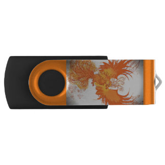 Memoria USB Fuego de Phoenix - palillo personalizado de