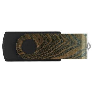 Memoria USB Grano de madera rico clásico