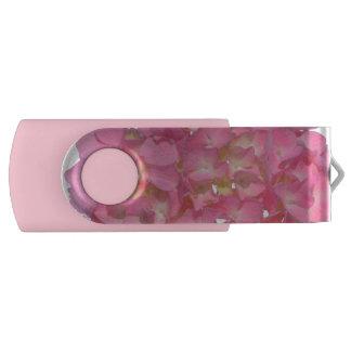 Memoria USB Hydrangea rosado