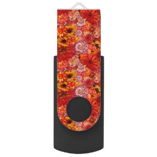 Memoria USB Margaritas candentes ricas del ramo brillante