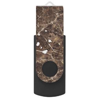 Memoria USB Modelo de piedra de mármol en los tonos de Brown