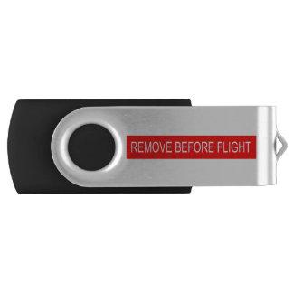 Memoria USB Quite antes de vuelo