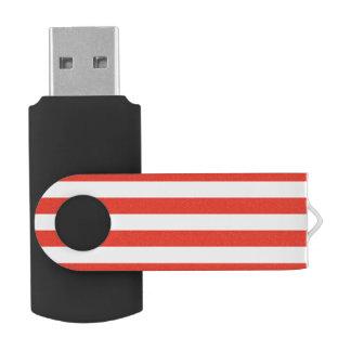 Memoria USB Rayas rojas horizontales
