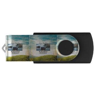Memoria USB Ruta verde azul de ABH Ridge