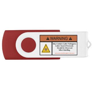 Memoria USB Unidad cibernética del aislamiento el patógeno