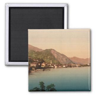 Menaggio I, lago Como, Lombardía, Italia Imán Cuadrado