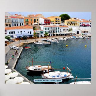 Menorca, Balearic Island, España Poster