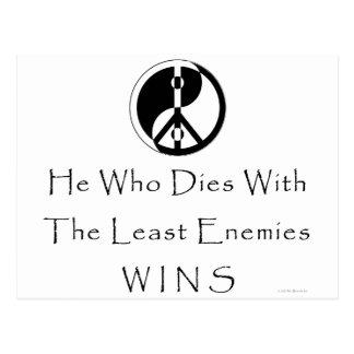 Menos enemigos postal