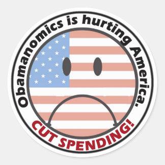 Menos gasto menos gobierno escucha la gente etiqueta
