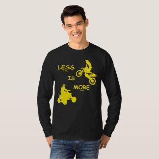 ¡Menos (ruedas) es más (diversión)!  En los Camiseta
