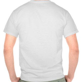 Menos trabajo y más levantamiento de pesas camisetas