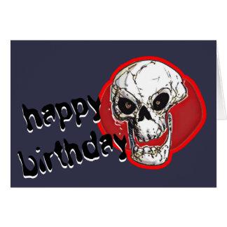 mensaje cómico de risa del feliz cumpleaños del tarjeta de felicitación