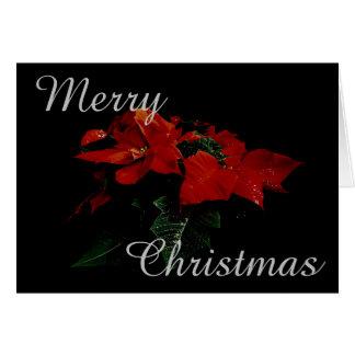 Mensaje de la familia de las Felices Navidad de la Tarjeta De Felicitación