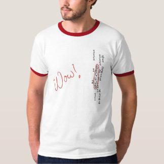 Mensaje de SETI de la señal del wow Camiseta
