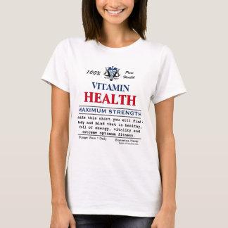Mensaje inspirado de la salud por Vitaclothes™ Camiseta