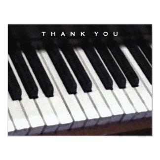 mensaje música-temático del de agradecimiento invitación 10,8 x 13,9 cm