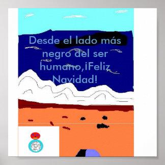 Mensaje Navideño Poster