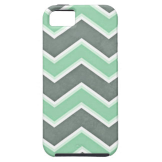 Menta clásica Chevron Funda Para iPhone SE/5/5s