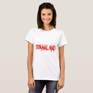 Mente criminal camiseta