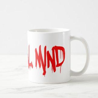 Mente criminal taza de café