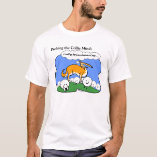 Mente del collie camiseta