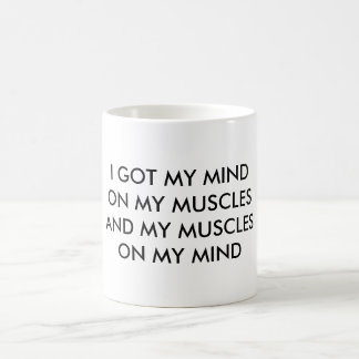 Mente en las tazas de los músculos