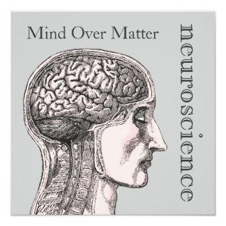 Mente sobre invitaciones de la neurología del invitación 13,3 cm x 13,3cm