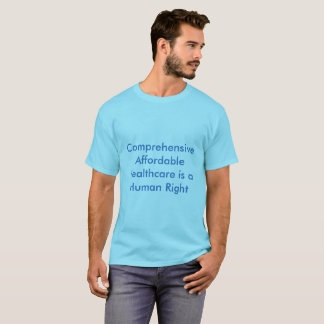 Mentes progresivas - atención sanitaria camiseta