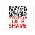 Mentira de los republicanos postales