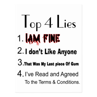 Mentiras del top 4 postal