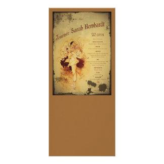 Menu de la Journee (menú) Diseño De Tarjeta Publicitaria