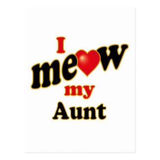 Meow mi tía postal