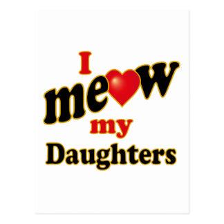 Meow mis hijas postal