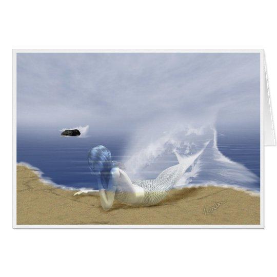 Mer fantasma tarjeta de felicitación