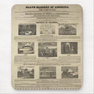 MERCADO AUXILIAR del costado 1836 de AMÉRICA Alfombrilla De Ratón